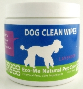 Eco-Me Natural Clean Dog Wipes