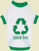 natural cotton dog tee
