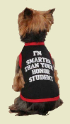 honor student dog tank