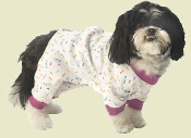 cotton dog pajamas