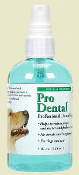 plaque and tartar reducing dog dental spray