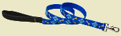 Blue Argyle Dog Leash