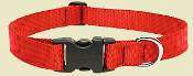 Solid Colored Adjustable Dog Collars