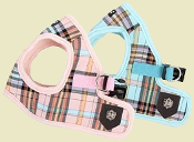 plaid vest harness