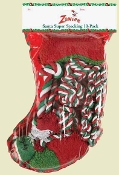 holiday dog toy stocking