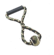 Camouflage Tug Rope Dog Toy