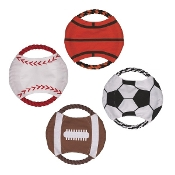 Sports-Themed Dog Toss Toys
