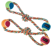 figure eight rope chew toy