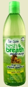 Natural bad dog breath mouth wash